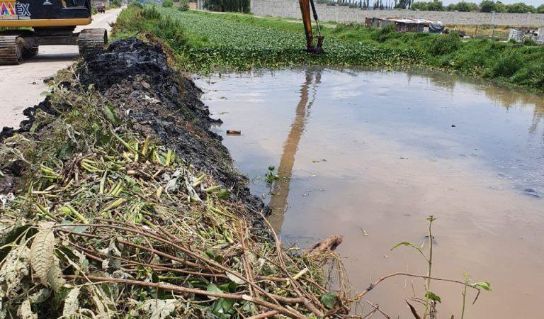 Lerma realiza trabajos para prevenir posibles afectaciones por lluvias