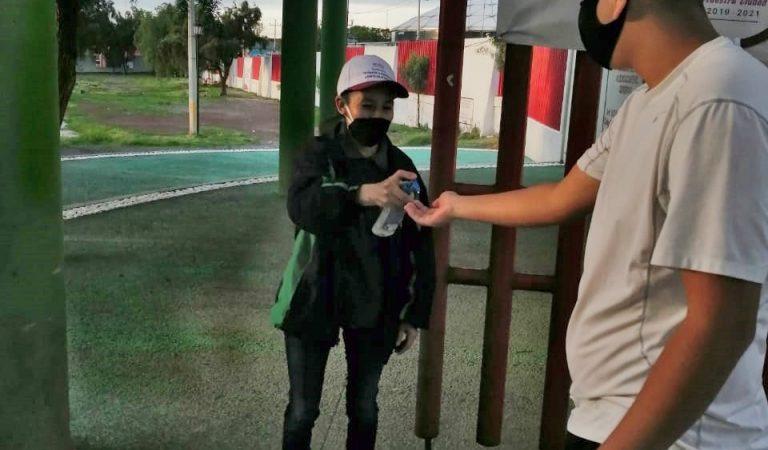 Reabren espacios deportivos en Tlalnepantla