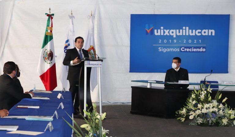 No le he fallado ni le fallaré a Huixquilucan: EVV