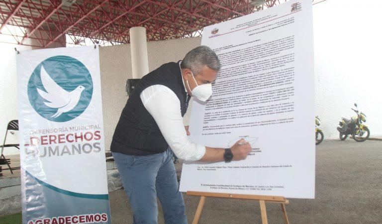 Ecatepec acata recomendación de Codhem, refuerza medidas para erradicar violencia contra mujeres