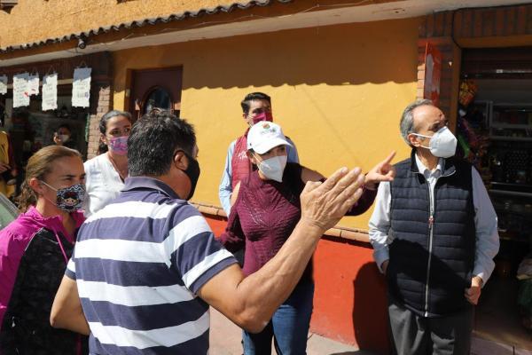 """Reinician programa municipal """"Regeneración en tu Colonia"""" en Metepec"""