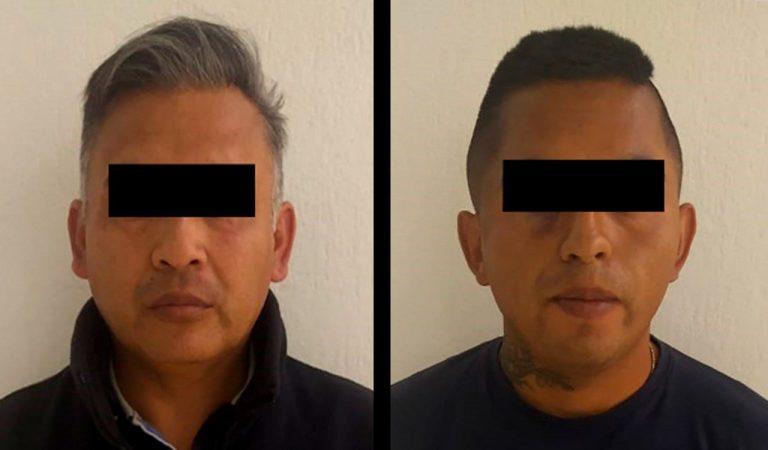Detienen a dos por robo en tienda de conveniencia de Cuautitlán