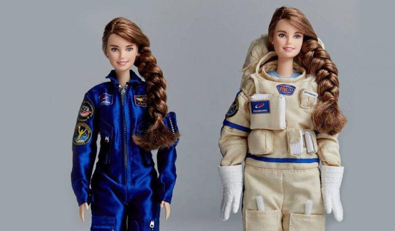 La nueva muñeca Barbie está inspirada en la cosmonauta rusa Ana Kíkina