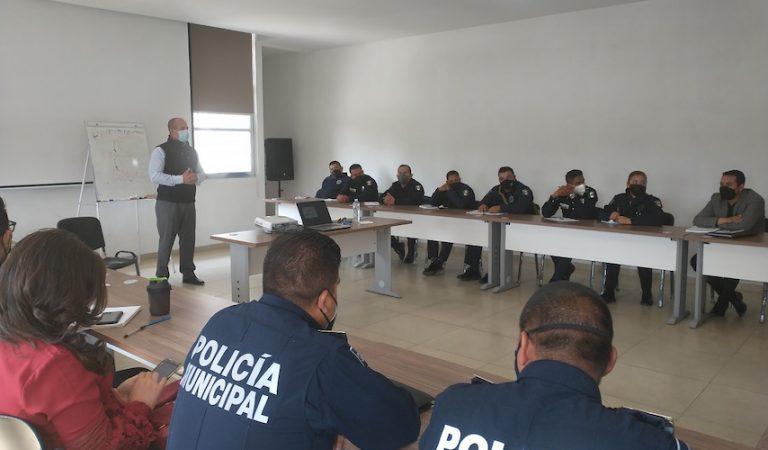 Contribuye Poder Judicial del Edomex a fortalecer el perfil del policía de proximidad en Atlacomulco
