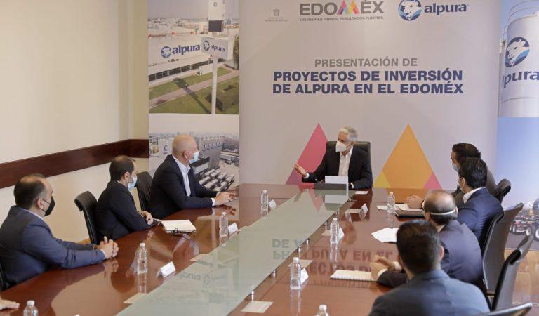 Presenta Alpura a Del Mazo inversión de mil 500 mdp