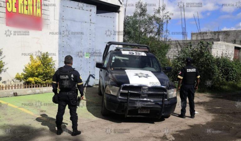 Resguardan en Chalco inmueble donde fue localizada mercancía robada con valor aproximado a un millón de pesos